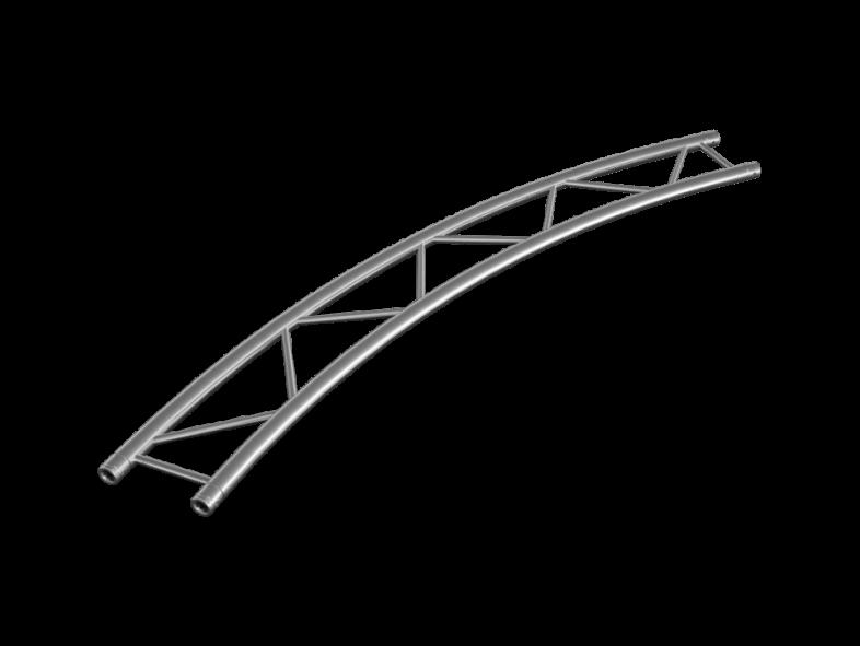 TAF truss ladder HT32, circle, horizontal, different
